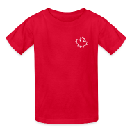 Kids' Shirts ~ Kids' T-Shirt ~ Leaf Outline
