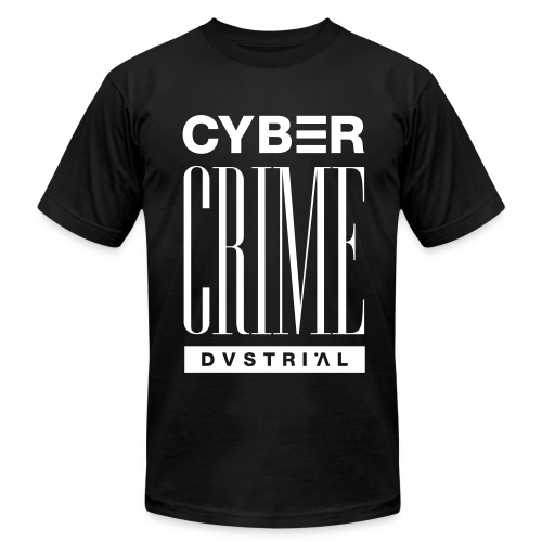 CYBERCRIME 99 BLACK AMERICAN APPAREL - Men's  Jersey T-Shirt