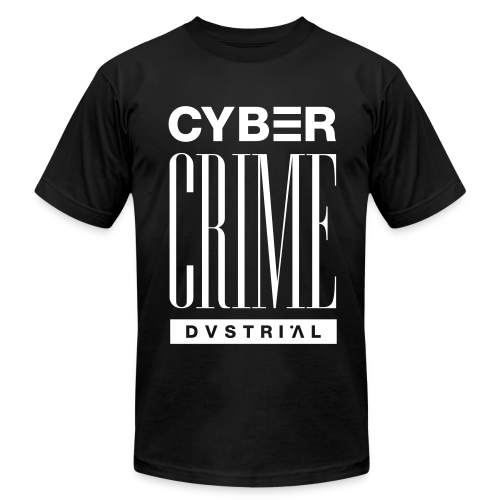 CYBERCRIME 99 BLACK AMERICAN APPAREL - Men's T-Shirt by American Apparel