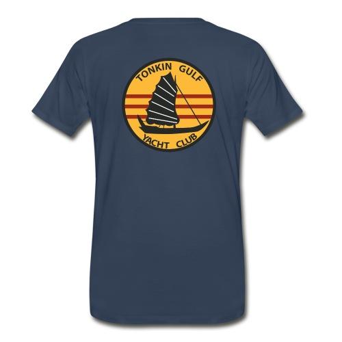 USS MIDWAY CVA-41 TONKIN GULF YACHT CLUB - Men's Premium T-Shirt