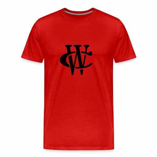 WC Logo (Black Print) - Men's Premium T-Shirt