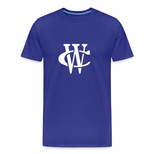 WC Logo Tee (White Print) - Men's Premium T-Shirt