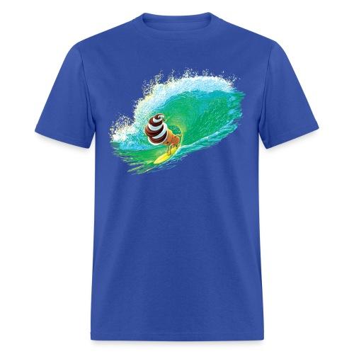Ice Cream Cone Surfing - Men's T-Shirt