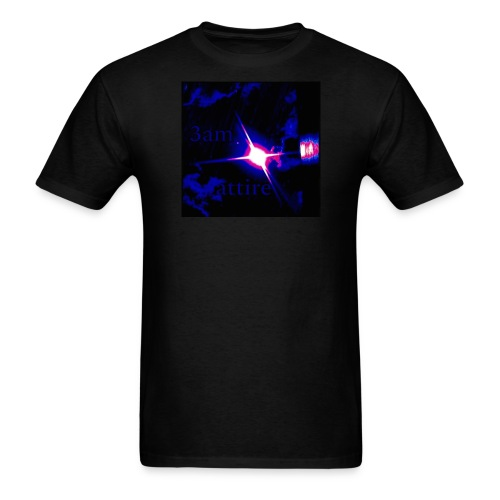 3am attire logo - Men's T-Shirt