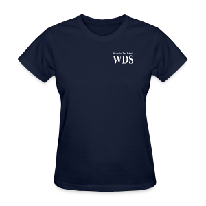 WDS Lines (white) - Women's T-shirt (more colors available) - Women's T-Shirt