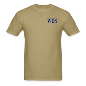 WDS Lines (navy) - Men's T-shirt (more colors available) - Men's T-Shirt