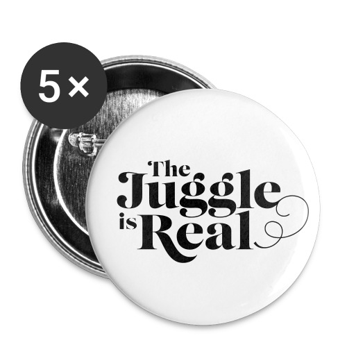 Juggle is Real button - Small Buttons