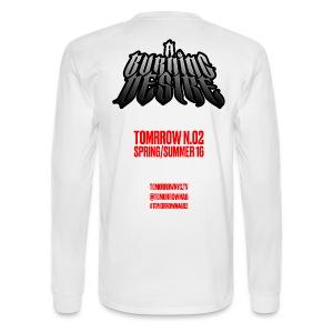 A BURNING DESIRE Longsleeve - White - Men's Long Sleeve T-Shirt