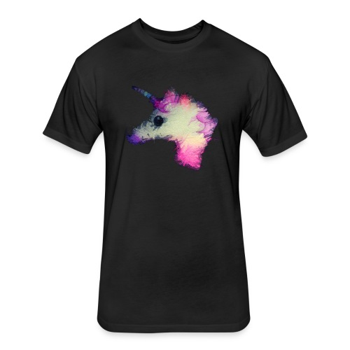 Psycho Unicorn Tee - Fitted Cotton/Poly T-Shirt by Next Level