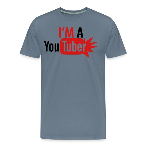 I'M A YOUTUBER - Men's Premium T-Shirt