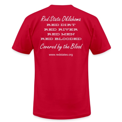 Red State Oklahoma - Men's Fine Jersey T-Shirt