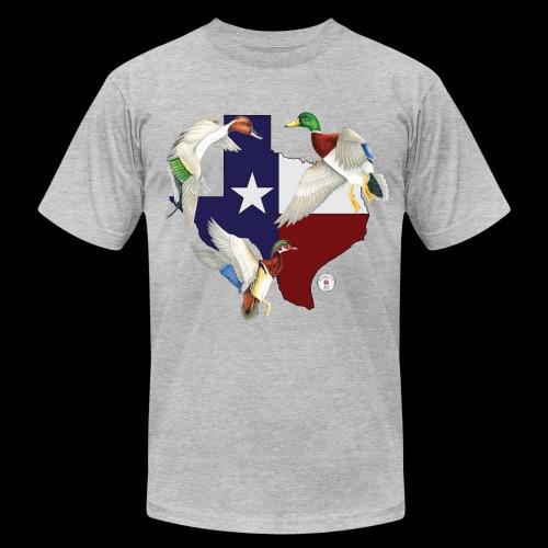Texas Ducks - Men's Fine Jersey T-Shirt