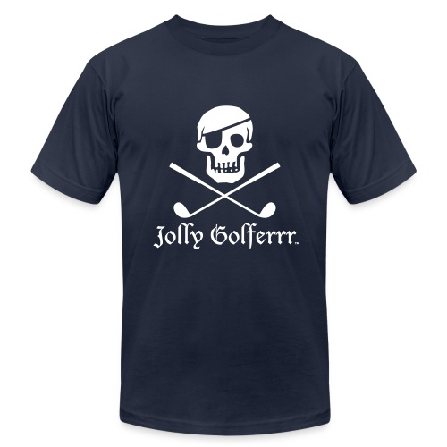 Saltire Blue - Men's Fine Jersey T-Shirt