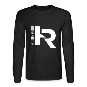 Mens Black Long Sleeve Shirt Available in Different Colors and Sizes - Men's Long Sleeve T-Shirt