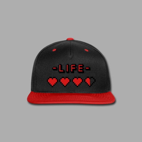 Life's a Game - Snap-back Baseball Cap