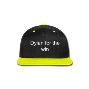 dylan for the win snap back hat - Snap-back Baseball Cap