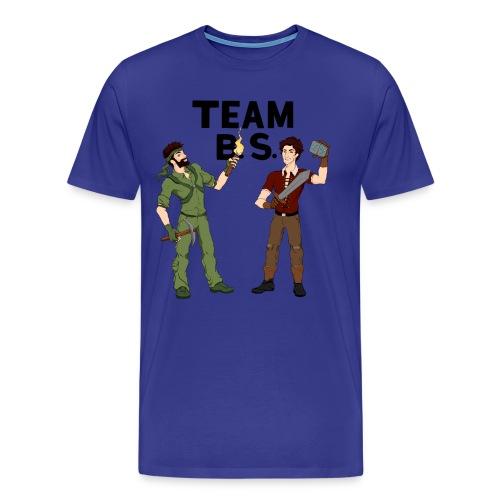 Team B.S. Men's Premium T-Shirt (Style 2) - Men's Premium T-Shirt