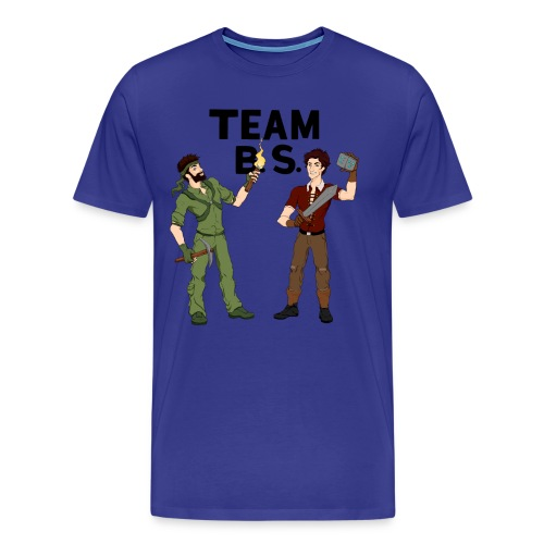 Team B.S. Men's Premium T-Shirt (Style 2) - Men's Premium T-Shirt