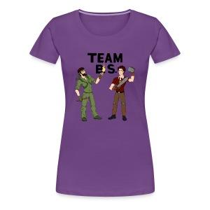 Team B.S. Women's Premium T-Shirt (Style 2) - Women's Premium T-Shirt