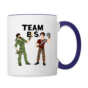Team B.S. Mug (Style 2) - Contrast Coffee Mug