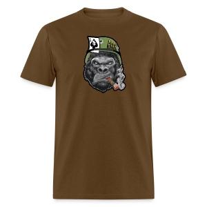 Smoking Gorilla Men's - Men's T-Shirt