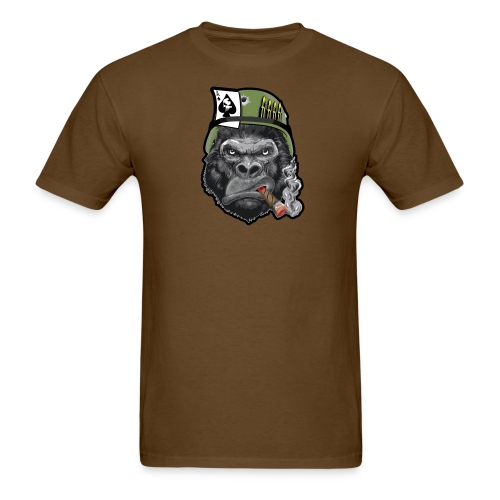 Smoking Gorilla Men's - Men's T-Shirt