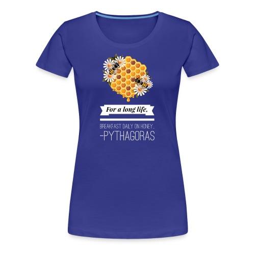 For a Long Life - Womens T-Shirt - Women's Premium T-Shirt