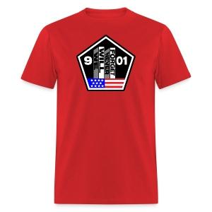 September 11 We Will Never Forget Men's - Men's T-Shirt