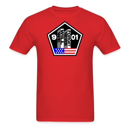 September 11 We Will Never Forget Men's - Men's T-Shirt