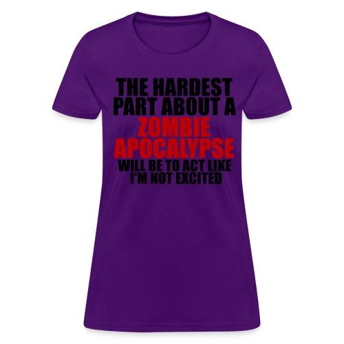 Zombie Apocalypse Women's - Women's T-Shirt