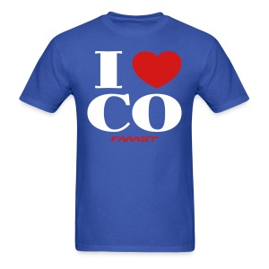 I love CO - Men's T-Shirt
