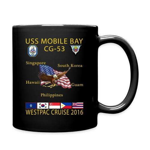 USS MOBILE BAY (CG-53) 2016 WESTPAC CRUISE MUG - Full Color Mug