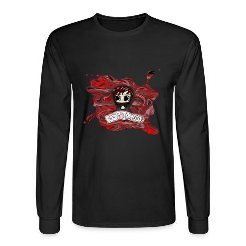 Foop Johnson Logo Long Sleeve Shirt - Men's Long Sleeve T-Shirt