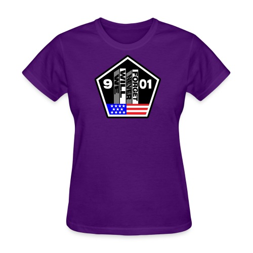 September 11 We Will Never Forget Women's - Women's T-Shirt