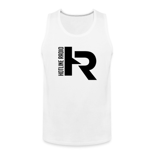 Men's White Tank Top Available in Different Colors and Sizes - Men's Premium Tank