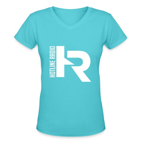Womens V-Neck Tee Available in Different Colors and Sizes - Women's V-Neck T-Shirt