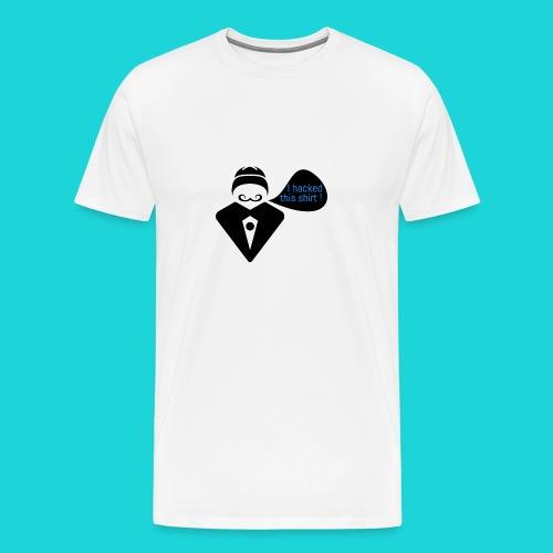 I hacked this shirt - Men's Premium T-Shirt