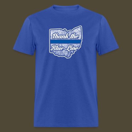 Blue Line Ohio - Men's T-Shirt
