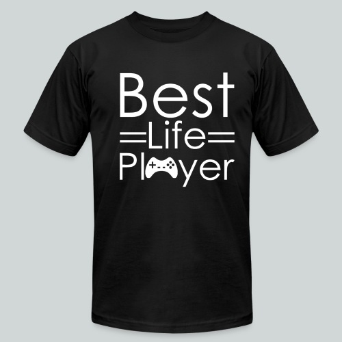 Best Life Player GamefulHeroes  - Men's T-Shirt by American Apparel