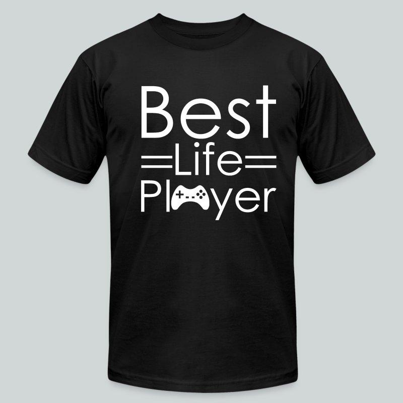 Best Life Player GamefulHeroes  - Men's Fine Jersey T-Shirt