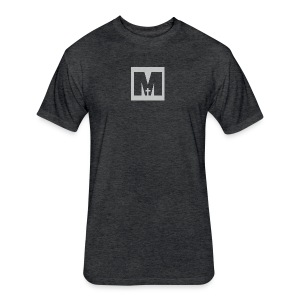 Manturity Watermark - Fitted Cotton/Poly T-Shirt by Next Level