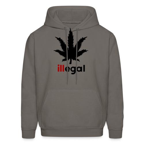 illegal- ill Hoodie - Men's Hoodie