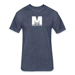 Manturity.com - Fitted Cotton/Poly T-Shirt by Next Level