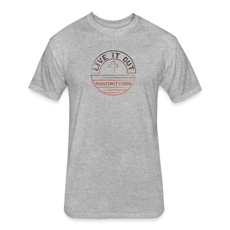 LIVE IT OUT - Fitted Cotton/Poly T-Shirt by Next Level