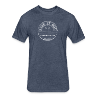 T-Shirts ~ Fitted Cotton/Poly T-Shirt by Next Level ~ LIVE IT OUT