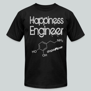 Happiness Engineer GamefulHeroes Men's T-Shirt by American Apparel - Men's Fine Jersey T-Shirt