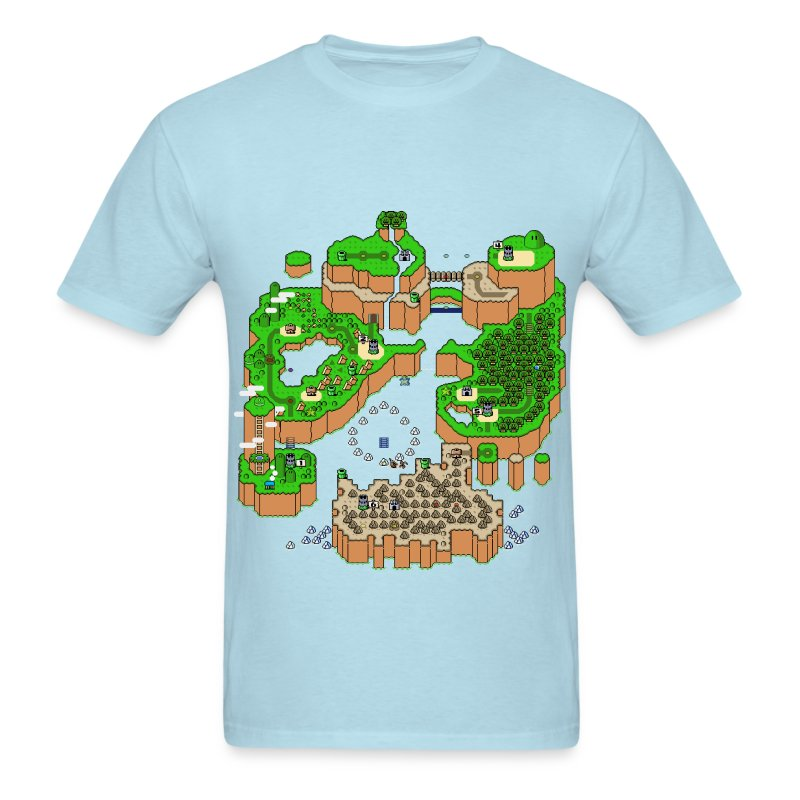 Super Mario World Map T Shirt Spreadshirt