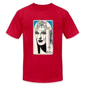 Queen of Swords - by Dame Darcy - Men's Fine Jersey T-Shirt