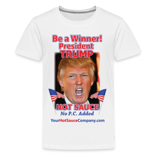 President Trump Hot Sauce Men's T-Shirt - Kids' Premium T-Shirt