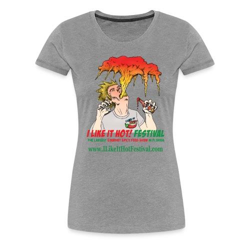 I Like it HOT! Festival 2016 Woman's T-Shirt - Women's Premium T-Shirt